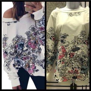💜sale💖colorful floral top
